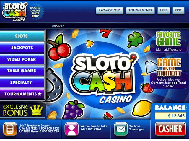 Sloto Cash Casino Online Site