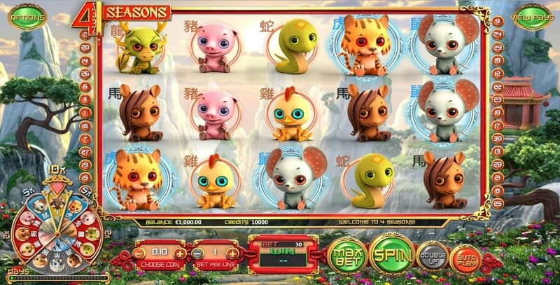 Seasons Slot Machine