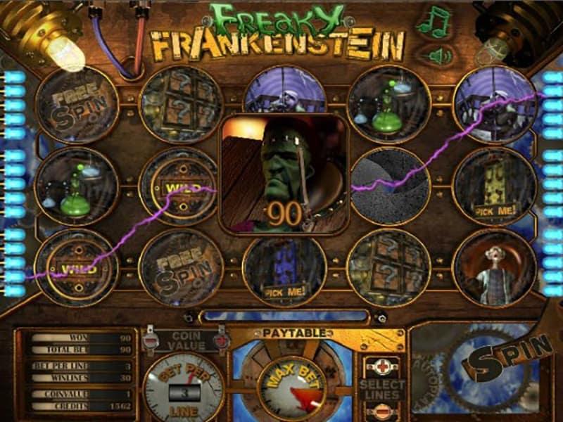 Freaky Frankenstein Slot