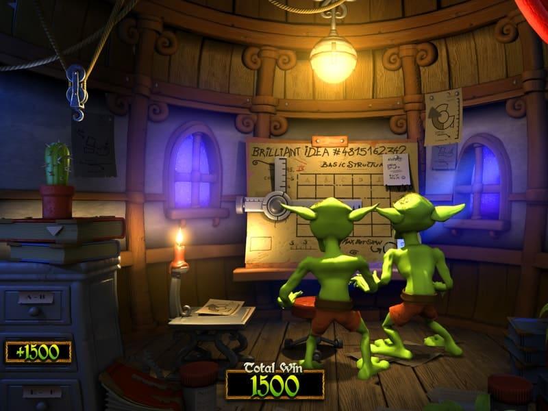 Greedy Goblins Slot Machine Bonus Round