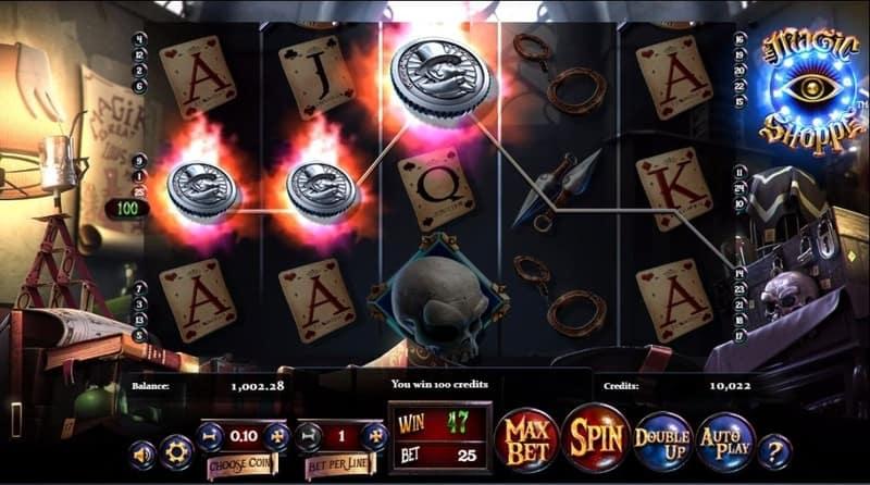 Magic Shoppe Slot Machine Coins