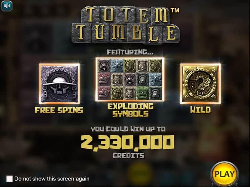 Totem Tumble Slot Screen